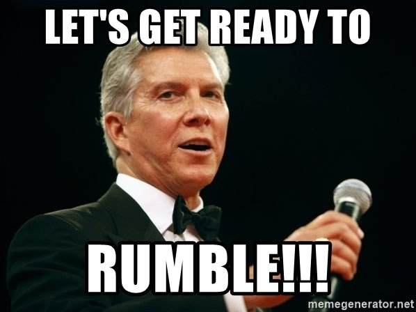 Image result for LETS GET READY TO RUMBLE PICS
