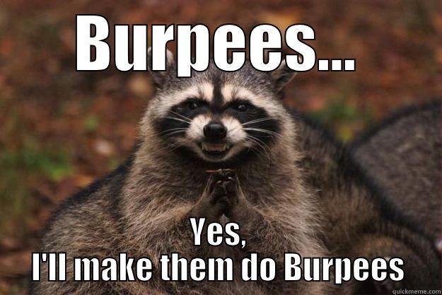 Racoon Burpees