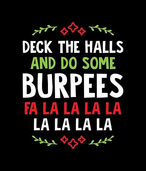 Deck the halls Burpees